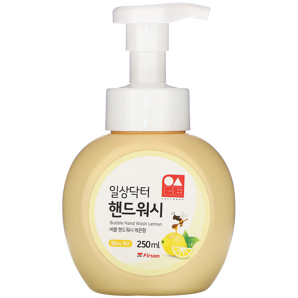 Bubble Hand Wash, Lemon, 250 ml