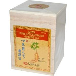 Ilhwa, Чистый концентрированный женьшеневый чай, 50 г