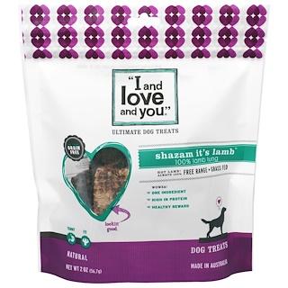 I and Love and You, Ultimate Dog Treats, Shazam It's Lamb, 2 oz (56.7 g)