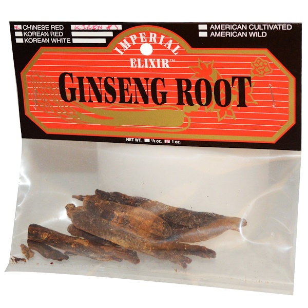 Imperial Elixir, Ginseng Root, Chinese Red, Kirin #5, 1 oz (Discontinued Item)