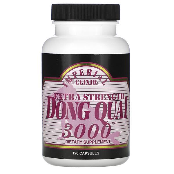 Extra Strength, Dong Quai, 3000 mg, 120 Capsules