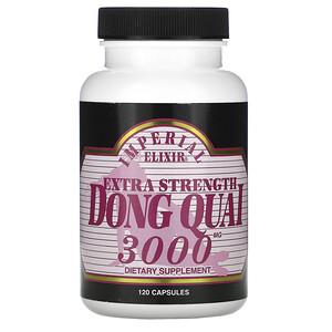 Эмпериал Эликсир, Extra Strength, Dong Quai, 3000 mg, 120 Capsules отзывы