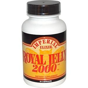 Эмпериал Эликсир, Royal Jelly, 2000 mg, 30 Capsules отзывы