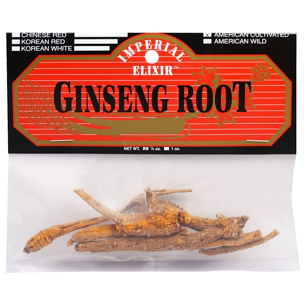 Imperial Elixir, Ginseng Root, American Cultivated, 1/2 oz (Discontinued Item)