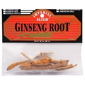 Эмпериал Эликсир, Ginseng Root, American Cultivated, 1/2 oz отзывы
