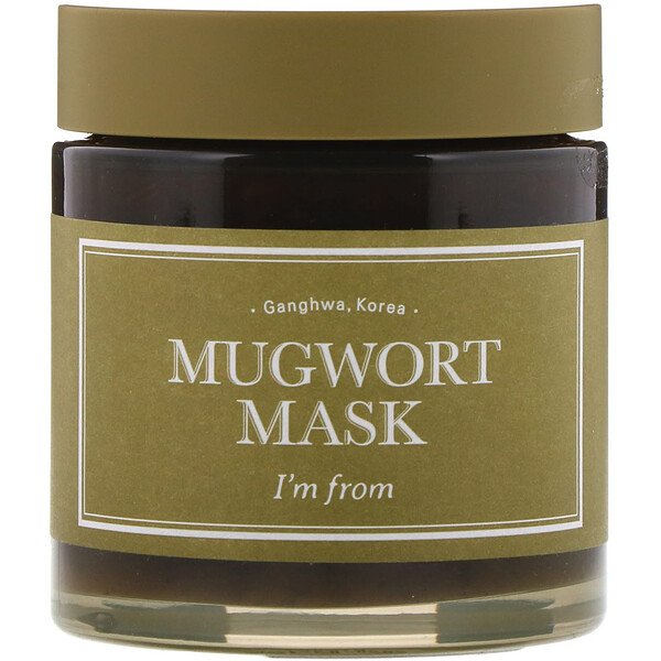I'm From, Mugwort Beauty Mask, 3.88 fl oz (110 g)
