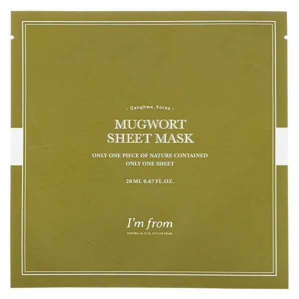 Mugwort Sheet Mask, 1 Sheet, 0.67 fl oz (20 ml)