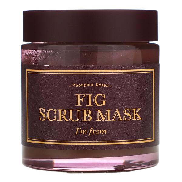 Fig Scrub Mask, 4.23 fl oz (120 g)