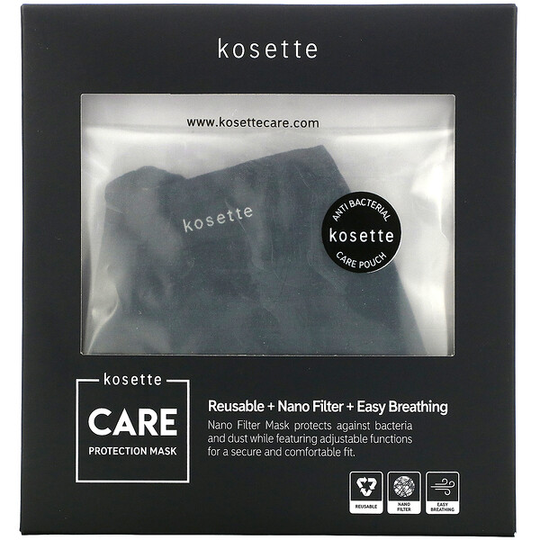 Care Protection Reusable Nano Filter Mask,, Medium, 1 Mask