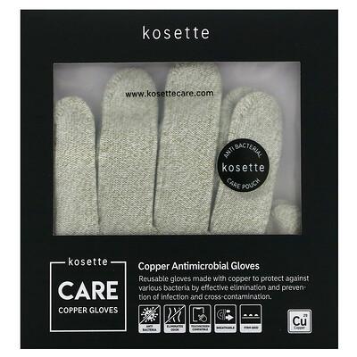 Купить Kosette Медные противомикробные перчатки, большие, 1 пара