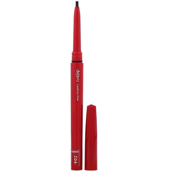 Dejavu, Lasting-Fine Retractable Eyeliner Pencil, Deep Black, 0.005 oz (0.15 g)