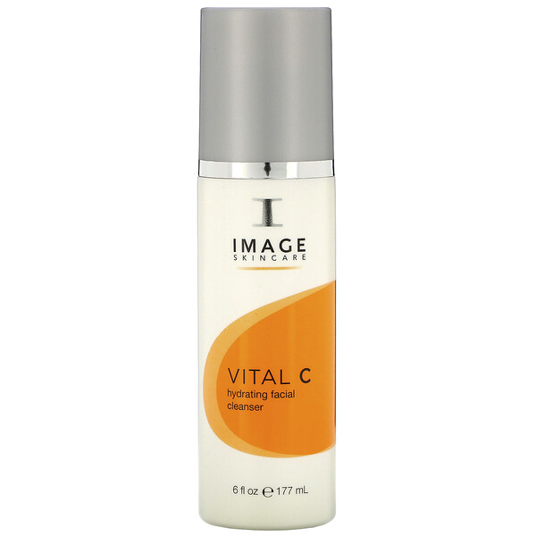 Image Skincare, Vital C Hydrating Facial Cleanser, 6 fl oz (177 g) (Discontinued Item)