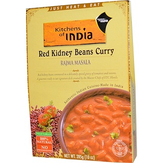 Kitchens of India, Rajma Masala, Red Kidney Beans Curry, 10 oz (285 g)