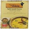 Kitchens of India, Yellow Dal Tadka, Split Lentil Curry, 10 oz (285 g)