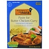 Kitchens of India, Paste for Butter Chicken Curry, Concentrate for Sauce, 3.5 oz (100 g)