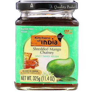 Китченс оф индия, Shredded Mango Chutney, 11.4 oz (325 g) отзывы
