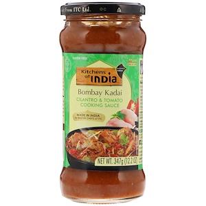 Китченс оф индия, Bombay Kadai, Cilantro & Tomato Cooking Sauce, Medium, 12.2 oz (347 g) отзывы