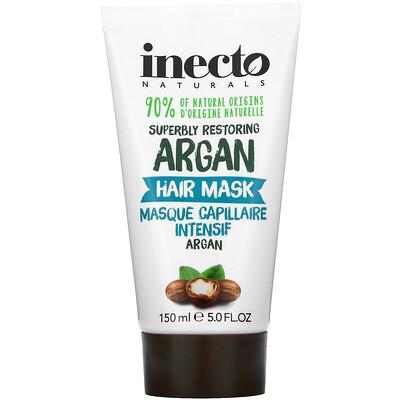 Inecto Superbly Restoring Argan, Hair Mask, 5.0 fl oz (150 ml)  - купить со скидкой