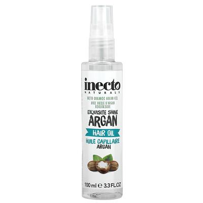 Inecto Exquisite Shine Hair Oil, 3.3 fl oz (100 ml)
