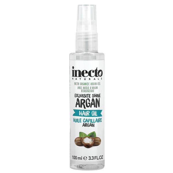Inecto, Exquisite Shine Hair Oil, 3.3 fl oz (100 ml)