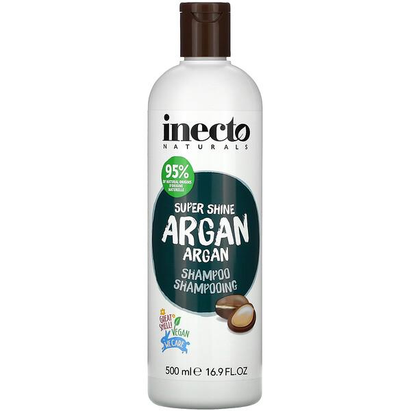 Inecto, Super Shine Argan, Shampoo, 16.9 fl oz (500 ml)