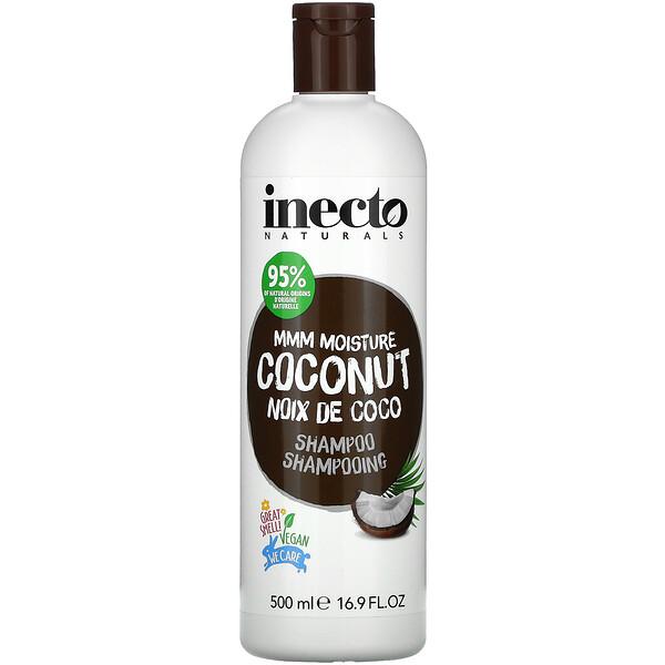 Mmm Moisture Coconut, Shampoo, 16.9 fl oz (500 ml)