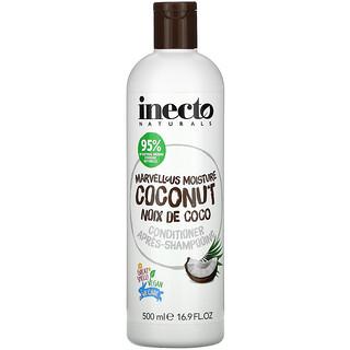 Inecto, Marvellous Moisture Coconut, Conditioner, 16.9 fl oz (500 ml)