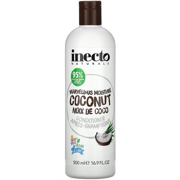Inecto, Marvellous Moisture Coconut, Conditioner, 16.9 fl oz (500 ml)