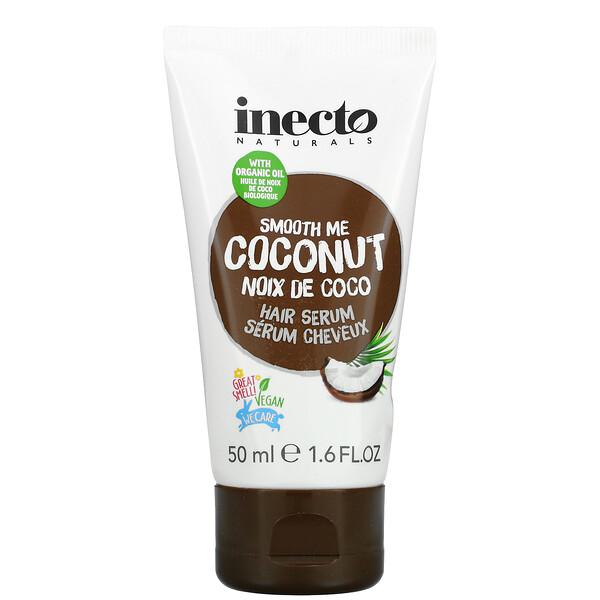 Inecto, Smooth Me Coconut Hair Serum, 1.6 fl oz (50 ml)