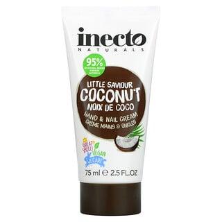 Inecto, Coconut Hand & Nail Cream, 2.5 fl oz (75 ml)