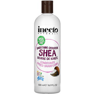 Inecto, Smoothing Operator Shea, Conditioner, 16.9 fl oz (500 ml)