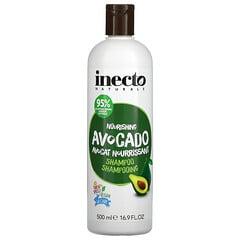 Inecto, 滋養鱷梨洗髮水,16.9 液量盎司(500 毫升)