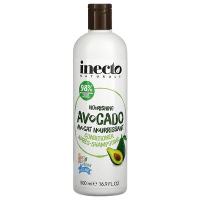Inecto Nourishing Avocado Conditioner, 16.9 fl oz (500 ml)