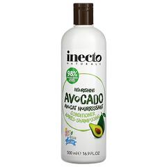 Inecto, 滋養鱷梨護髮素,16.9 液量盎司(500 毫升)
