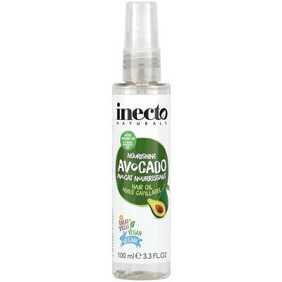 Inecto Nourishing Avocado Hair Oil, 3.3 fl oz (100 ml)