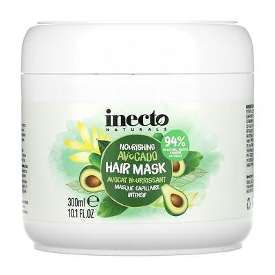 Inecto Nourishing Avocado Hair Mask, 10.1 fl oz (300 ml)
