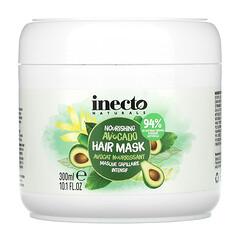 Inecto, 滋養鱷梨髮膜,10.1 液量盎司(300 毫升)