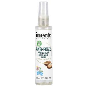 Inecto, Anti-Frizz Hair Serum, Super Shine Argan, 3.3 fl oz (100 ml)