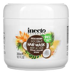Inecto, 保濕椰子髮膜,10.1 液量盎司(300 毫升)