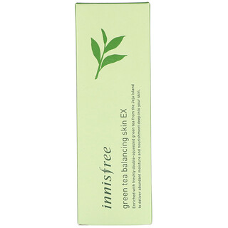 Innisfree, Green Tea Balancing Skin EX, 200 ml