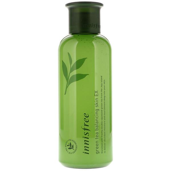 Innisfree, Green Tea Balancing Skin EX, 200 ml (Discontinued Item)