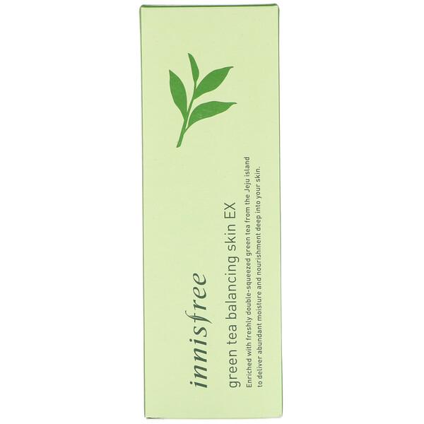 Innisfree, Балансирующий тонер для кожи с экстрактом зеленого чая, 200 мл