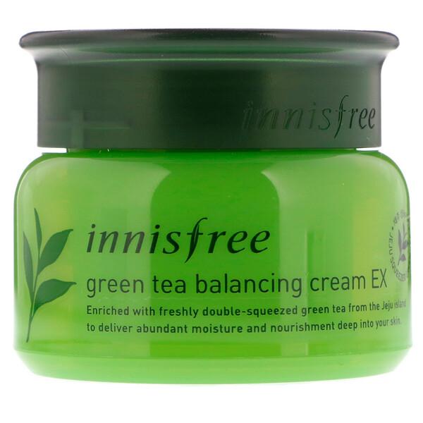 Innisfree, Green Tea Balancing Cream EX, 1.69 oz (50 ml) (Discontinued Item)