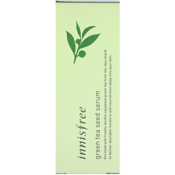 Innisfree, Green Tea Seed Serum, 80 ml