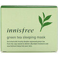 Innisfree, Green Tea Sleeping Mask, 80 ml