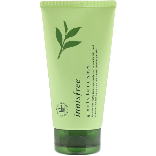 Innisfree, Green Tea Foam Cleanser, 150 ml (Discontinued Item)