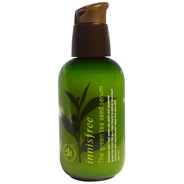 Innisfree, The Green Tea Seed Serum, 80 ml