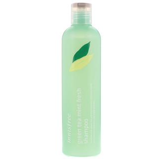 Innisfree, Green Tea Mint Fresh Shampoo, 300 ml