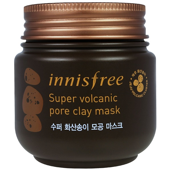 Innisfree, Super Volcanic Pore Clay Mask, 3.38 oz (100 ml) (Discontinued Item)