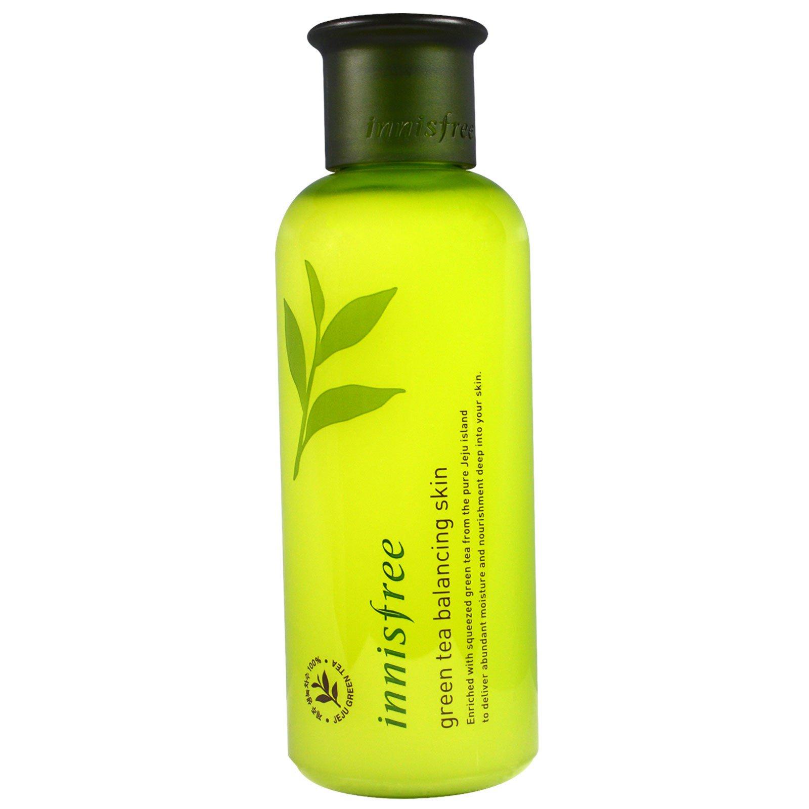 Innisfree, Средство для баланса кожи с зеленым чаем, 200 мл